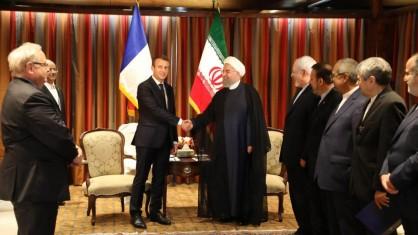 روحانی: گفت وگوی ایران و اروپا درباره مسایل منطقه ای ارتباطی به برجام ندارد/مکرون: خواهان مذاکره جدید درباره برجام نیستیم اما مایلیم راجع به موضوعات دیگر گفت وگو کنیم