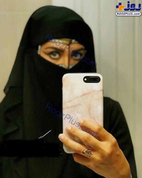 پوشش عجیب و غریب و غیر ایرانی خانم بازیگر+عکس