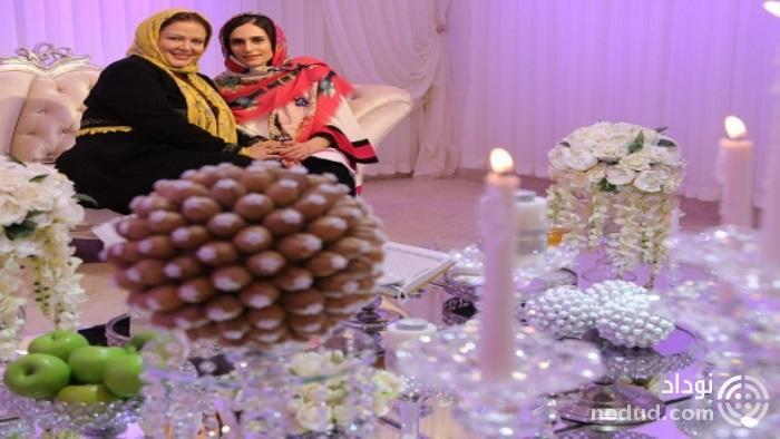 خانم بازیگر ایرانی در اتاق عقد + عکس