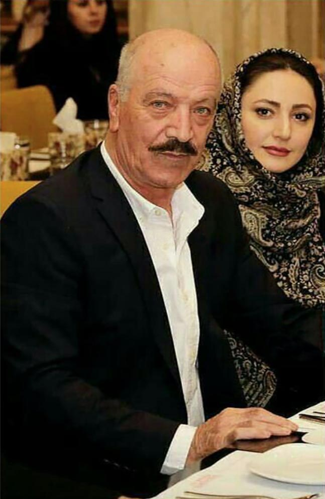 سعید راد در کنار همسر دومش! + عکس