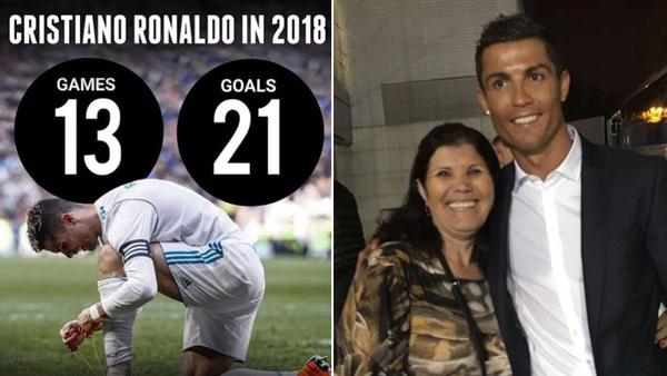 واکنش مادر رونالدو به منتقدان فرزندش+عکس