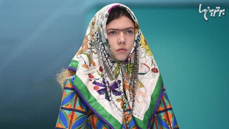 دختران قاجار در فشن شوی برند مشهور جهانی/ تصاویر