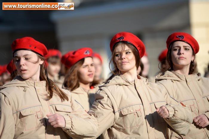 تصویر اب  زن زیباترین زن نظامی روس+تصویر | وطن پرست« یونارمیا» در زمان ...