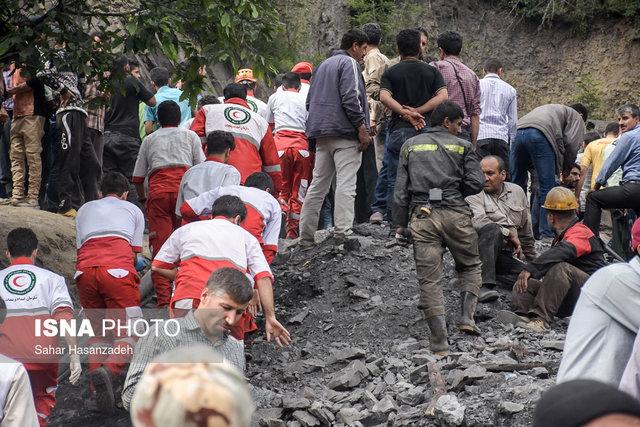 خروج پیکر یک معدنچی دیگر از تونل معدن/ شمار جان باختگان به 22 نفر رسید