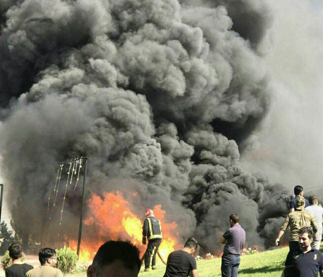عکس 136830_950 انفجار مرگبار تانکر حامل گازوئیل در تبریز+فیلم و تصاویر