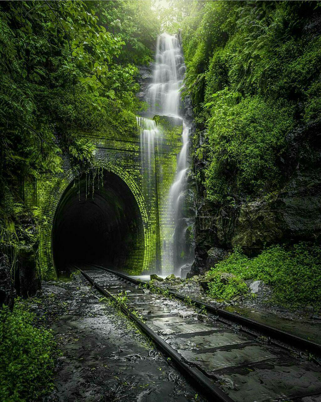 تصاویر نقاشی کعبه تونل زیبای هلینزبور/ تصویر | تونل زیبا و قدیمی هلینزبور ساخته