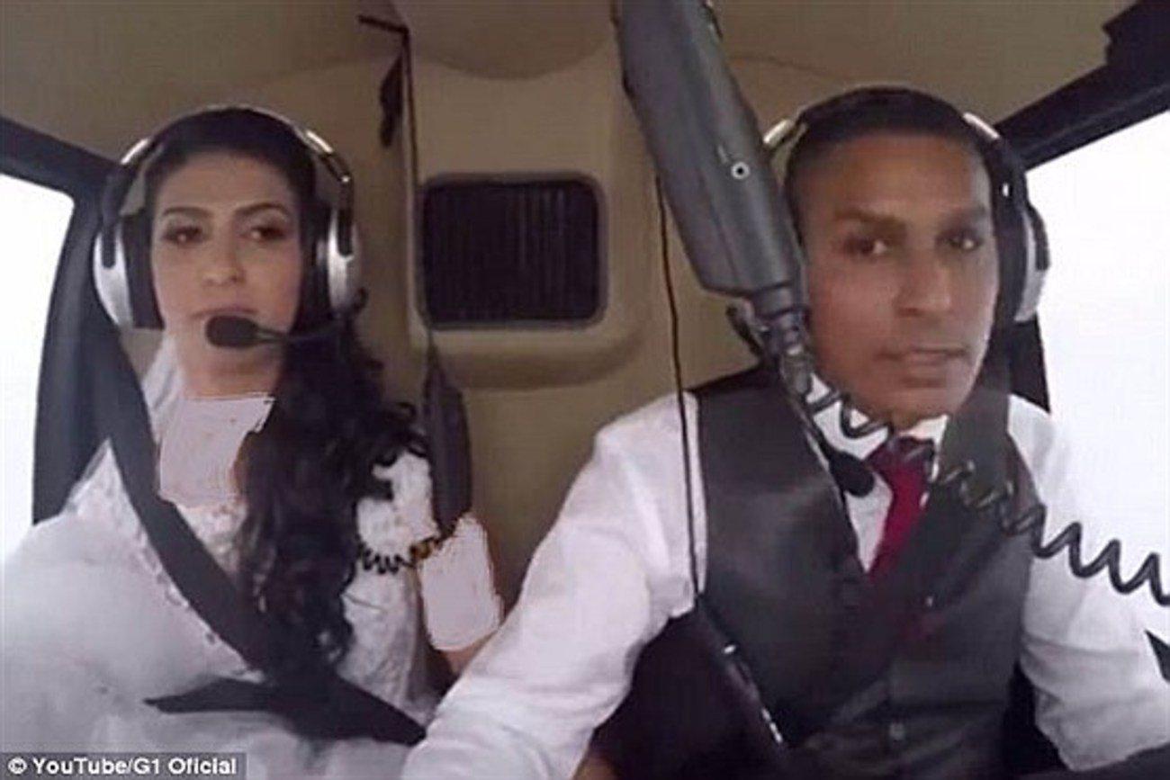 عروس نگون بختی که با هواپیما هرگز به مراسم عروسی نرسید / عکس