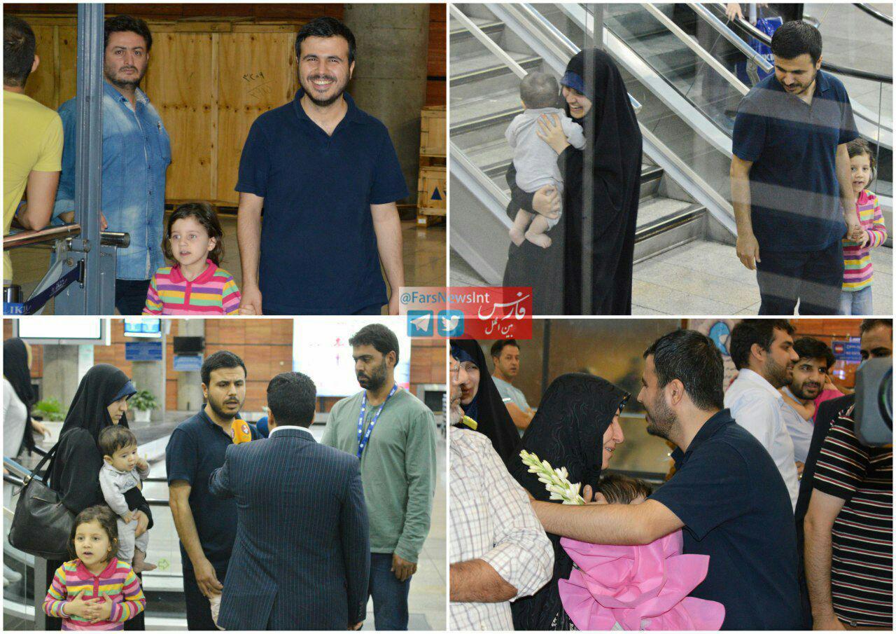 دانشمند ایرانی به کشور بازگشت + تصاویر