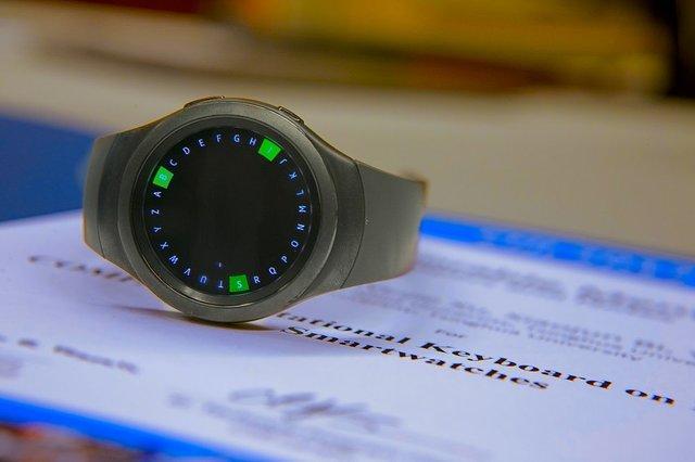 کیبورد گِرد برای ساعتهای هوشمند+تصاویر