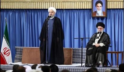 توئیت رئیسجمهور درباره مخاطب بایدها/ فیلمی از سخنان روحانی در دیدار با رهبری+ویدئو