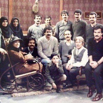 داود رشیدی و جمیله شیخی در قاب تلویزیون +عکس
