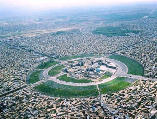 عکس هوایی از حرم نورانی امام رضا(ع) حدود ۴۰ سال پیش