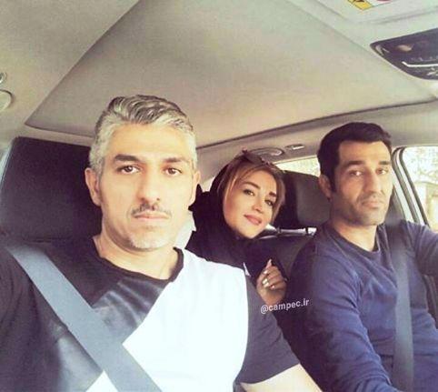 عکس های پژمان جمشیدی در کنار خواهر و برادرش