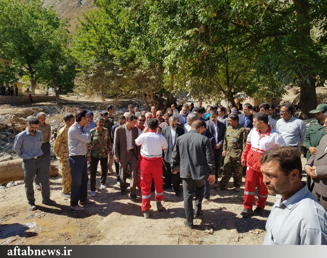 گزارش تصویری از بازدید نوبخت از مناطق سیل زده استان خراسان رضوی