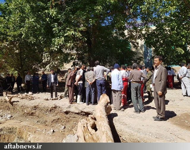 گزارش تصویری از بازدید نوبخت از مناطق سیل زده خراسان رضوی