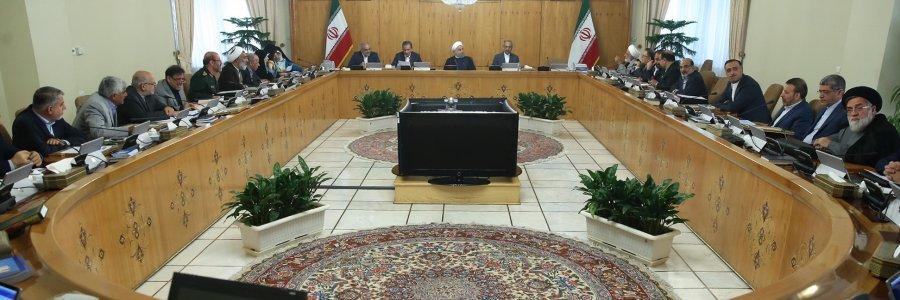 روحانی در آخرین جلسه کابینه یازدهم چه گفت؟
