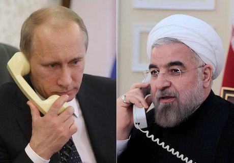 گفتوگوی تلفنی روحانی و پوتین