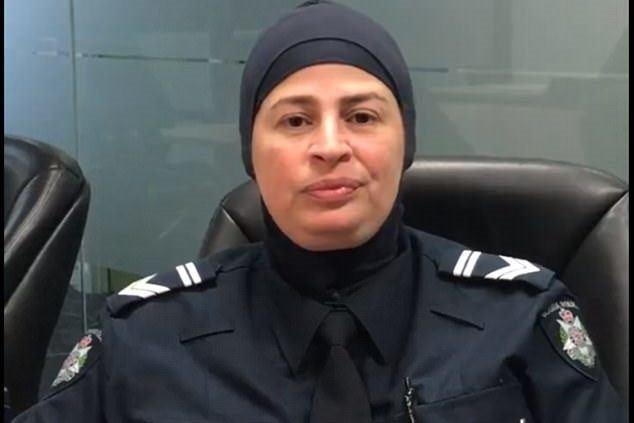 مشکلات اولین پلیس محجبه در استرالیا +عکس