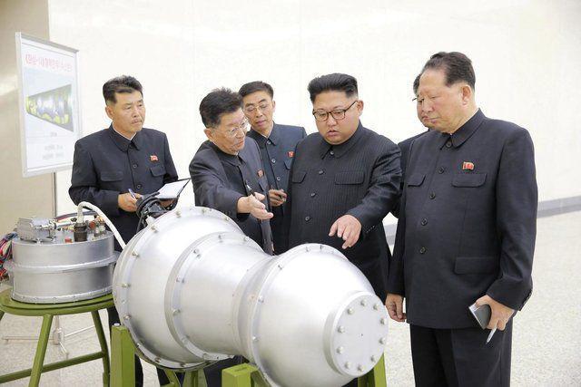 کرهشمالی بمب هیدروژنی جدید با قدرت تخریب بالا ساخت/تماس تلفنی آبه و ترامپ