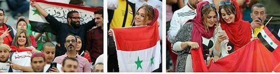 شب شرمساری در آزادی/گفتند با پرچم سوريه برو داخل!