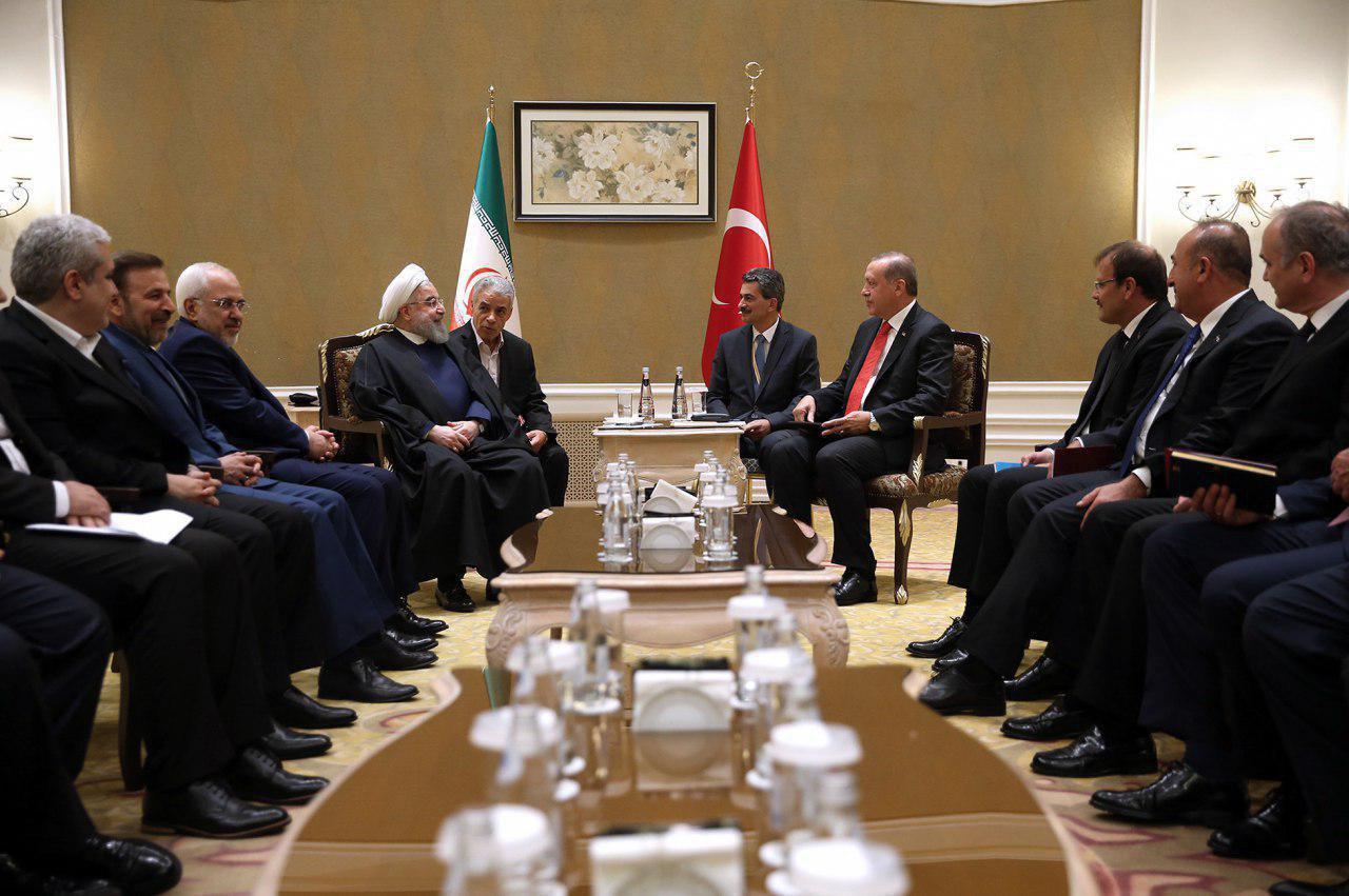 در دیدار روحانی و اردوغان در پایتخت قزاقستان چه گذشت؟