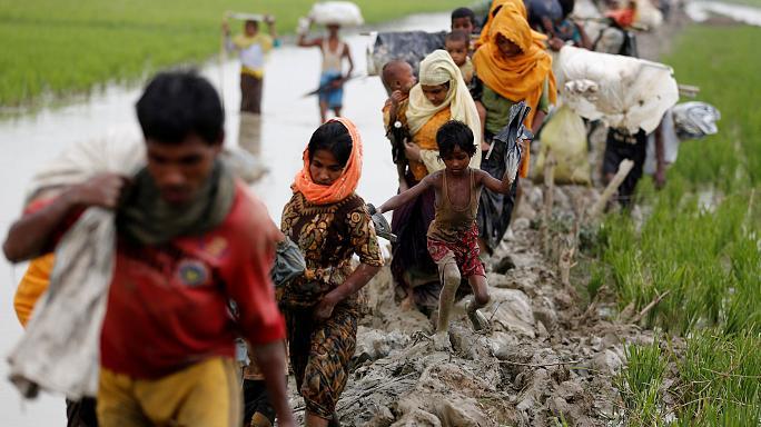 از میانمار رانده از بنگلادش مانده؛ مسلمانان روهینگیای میانمار کیستند؟+تصاویر