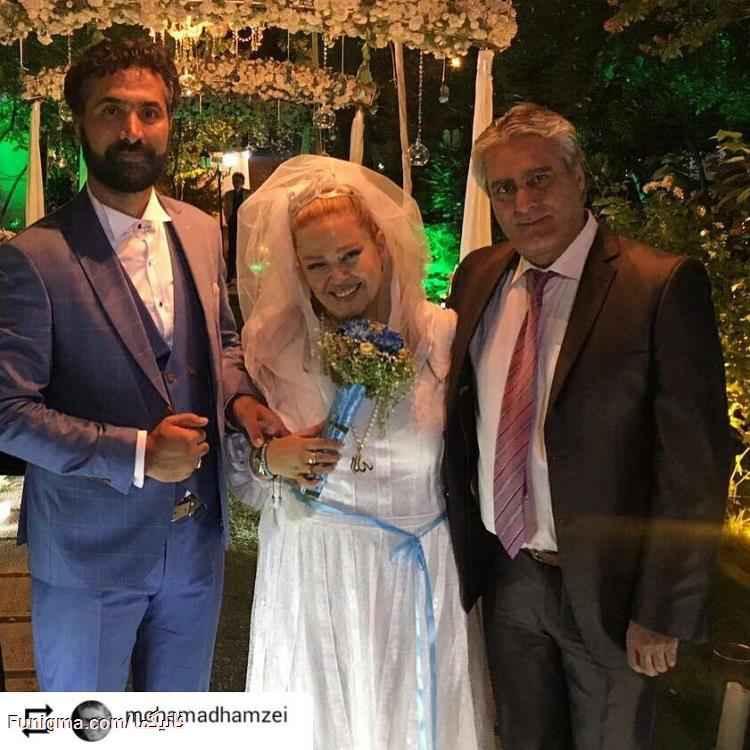 ازدواج مجدد و عجیب بهاره رهنما + عکس