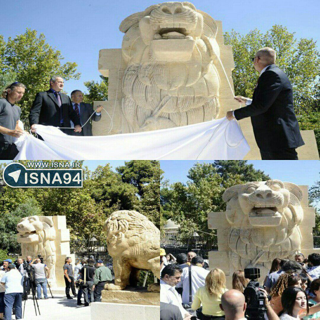 رونمایی از مجسمه ۲هزارساله در سوریه+عکس