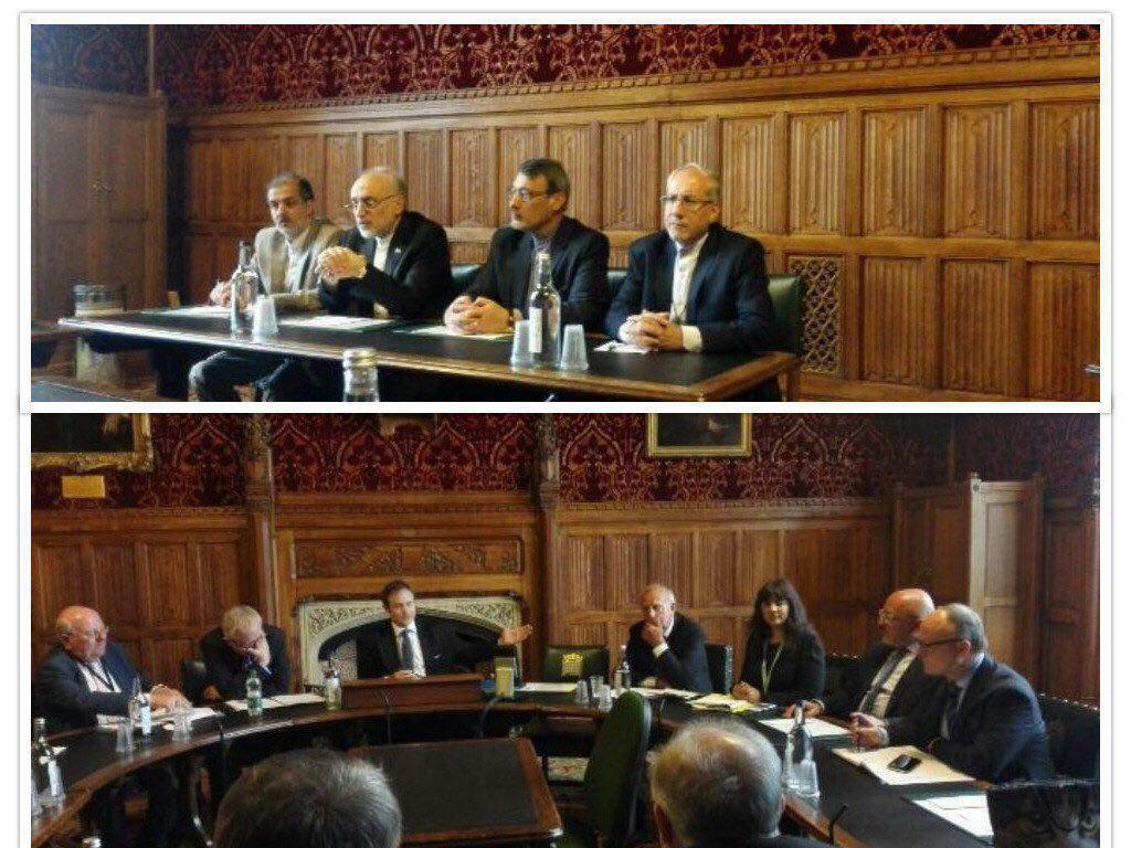 حضور صالحی در کمیته روابط خارجی مجلس انگلیس
