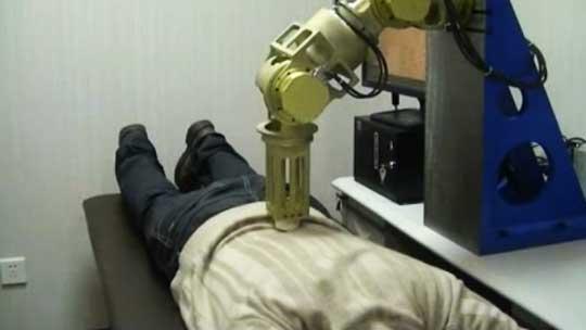ماساژدرمانی با ربات+عکس