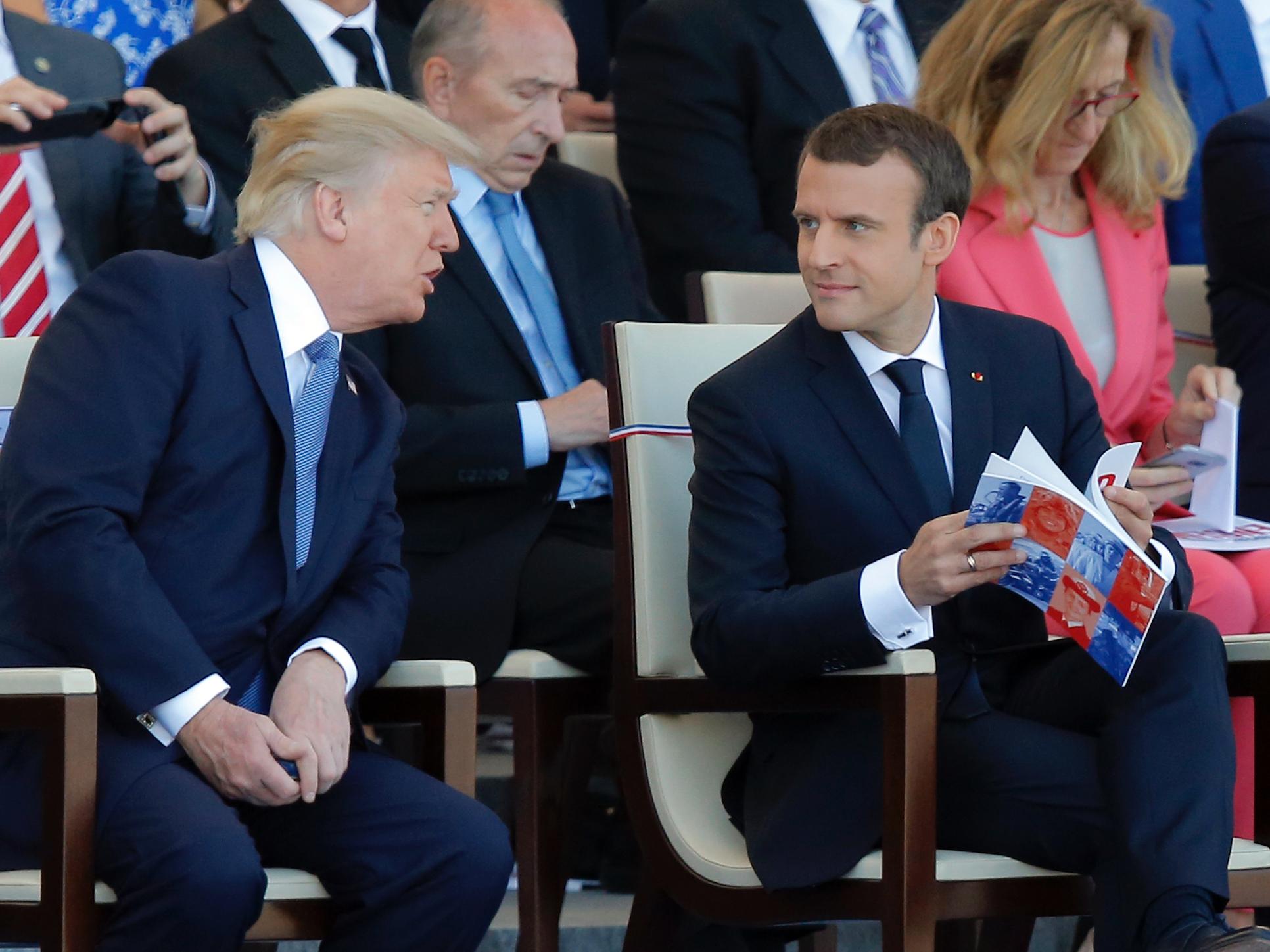 رئیسجمهور فرانسه: با آمریکا درباره ایران اختلاف داریم/ به تهران سفر خواهم کرد