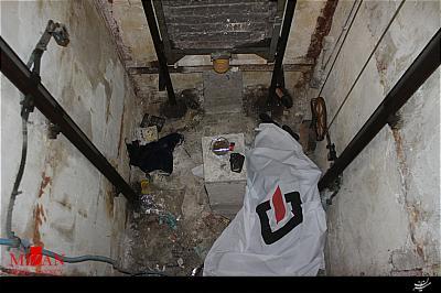 سقوط مرگبار زن ۶۰ ساله به چاهک آسانسور +عکس