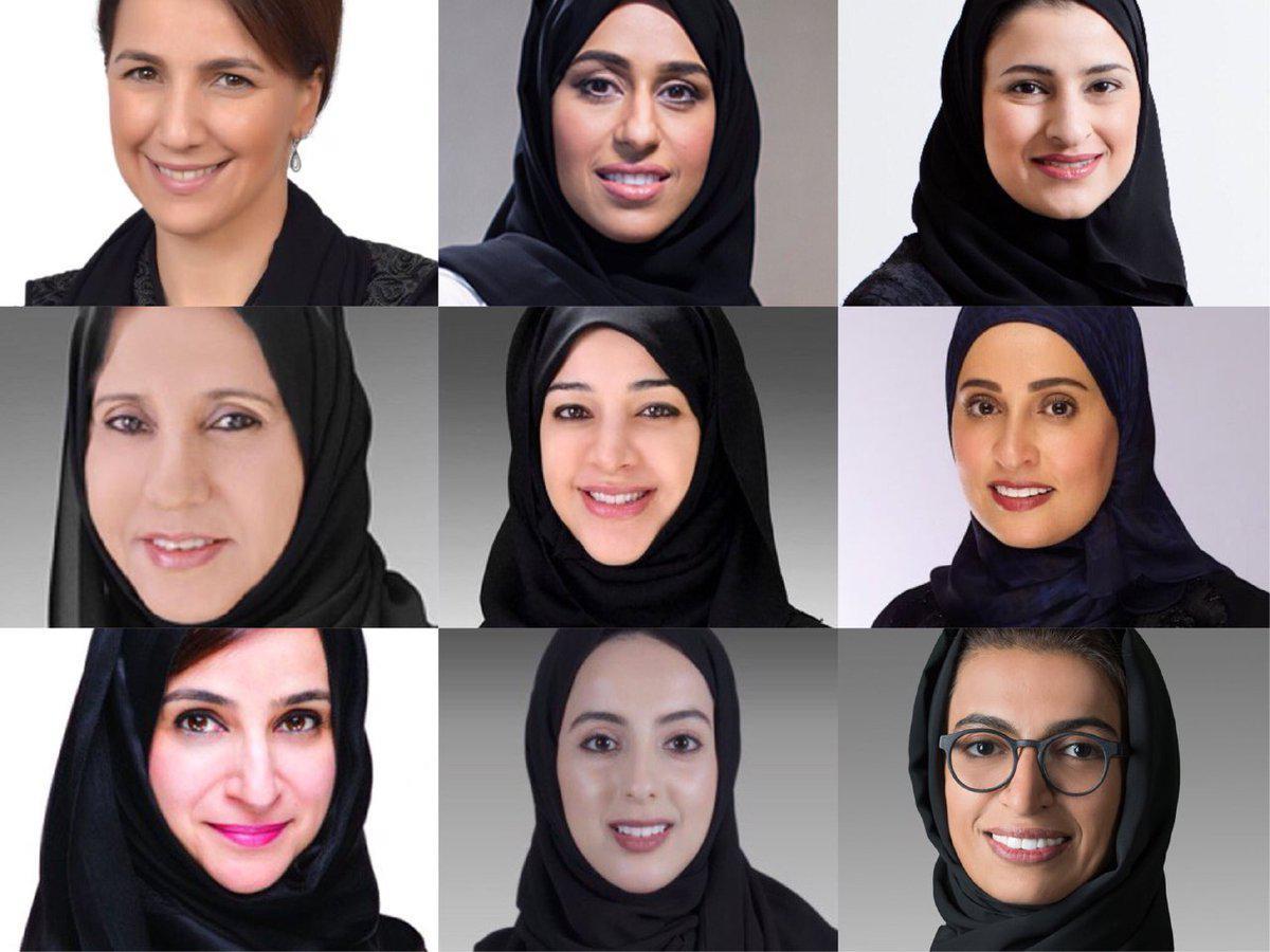 نتیجه تصویری برای 9 وزیر زن در کابینه جدید امارات/ ایجاد وزارت هوش مصنوعی