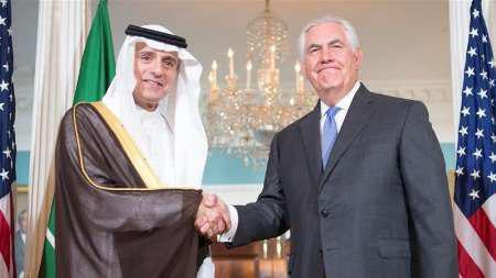 آمریکا به دنبال اتحاد عربستان و عراق علیه ایران/جزئیات گفتوگوی تیلرسون و الجبیر
