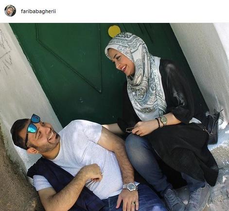 پست عاشقانه خانم مجری برای همسرش +عکس