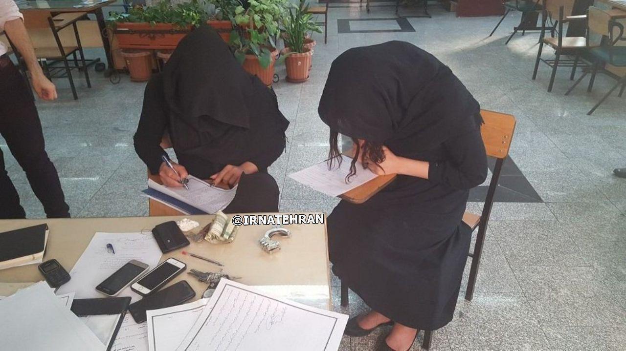 دستگیری قاتلین دوجنسیتی در تهران با نام  های میترا و مرجان /عکس