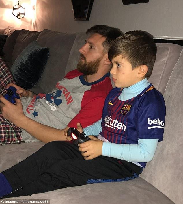 مسی در PS4 هم به رئال مادرید رحم نکرد! /عکس