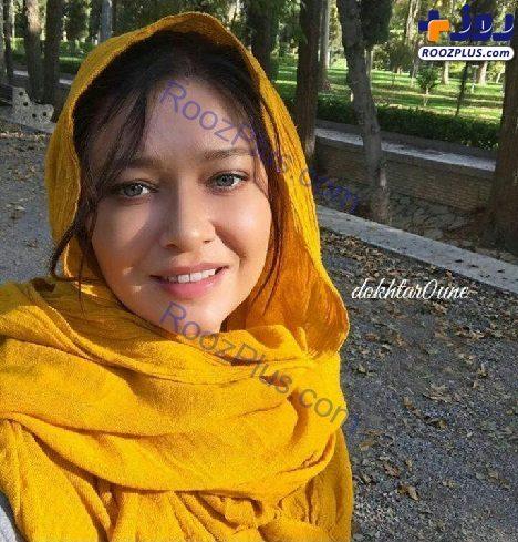 بازیگر زن معروف ترکیهای با حجابی جالب در ایران/عکس