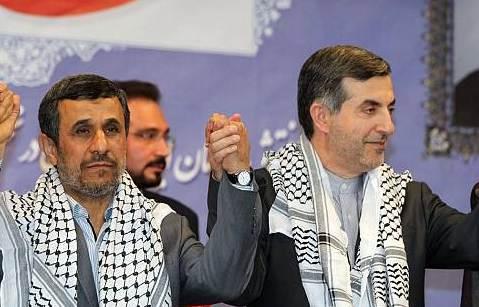 Risultati immagini per احمدینژاد و مشایی