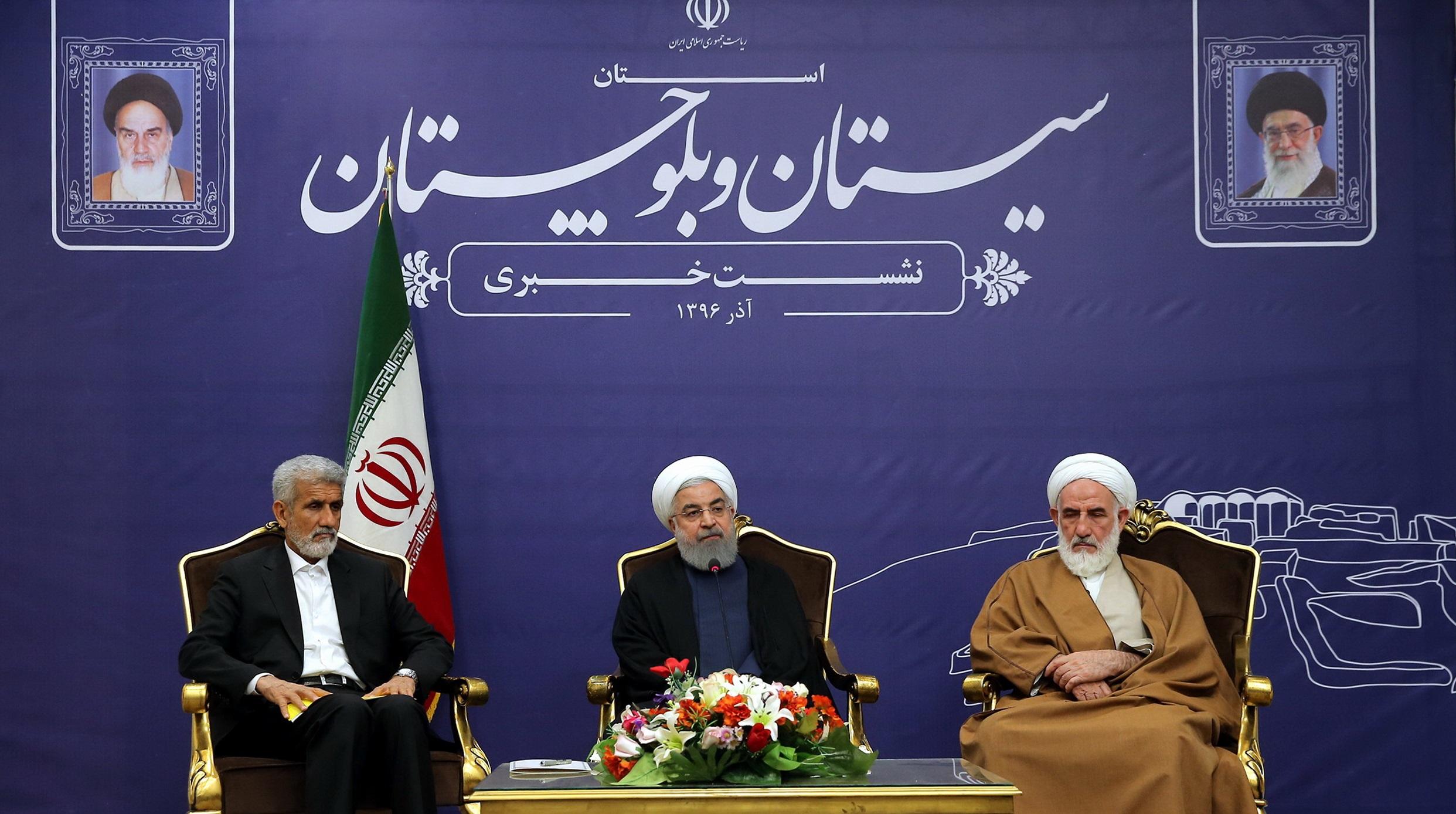 پایان سفر رئیسجمهور به سیستان و بلوچستان/روحانی: حاشیهنشینی غمی بزرگ است