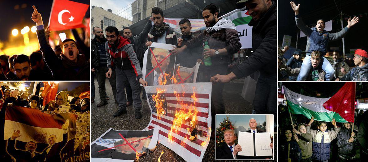 خشم در خاورمیانه؛ آمریکا بنزین روی شعلهجنگ ریخته/هشدار رهبران جهان به ترامپ+تصاویر