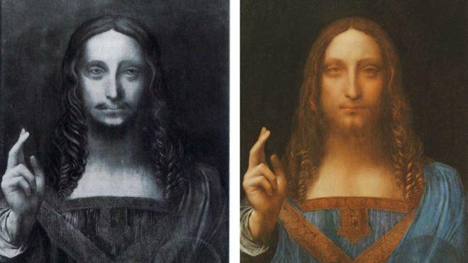 اثر ۴۵۰ میلیون دلاری داوینچی در راه موزه لوور ابوظبی+عکس