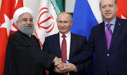 توافق ایران، ترکیه و روسیه درباره سوریه/گاردین: آمریکا و اروپا به حاشیه رانده شدند