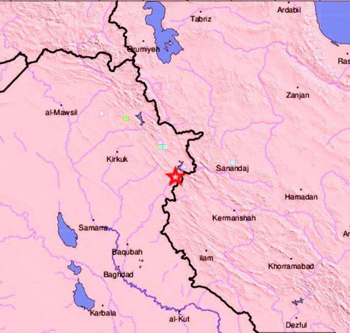 زلزله ۶ ریشتری غرب کشور را لرزاند+عکس