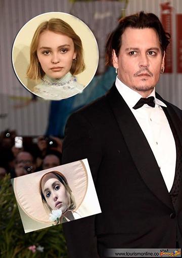 دختر بازیگر مشهور هالیوود وارد دنیای مُد شد +عکس
