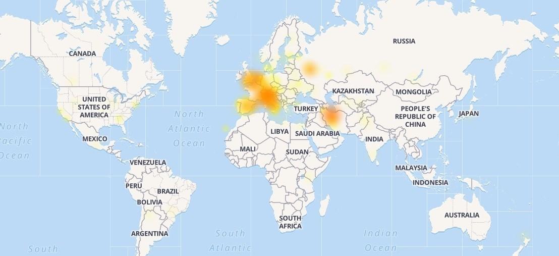 تلگرام شما هم قطع شد؟ +نقشه