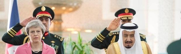 پیام جدی انگلیس به پادشاه عربستان