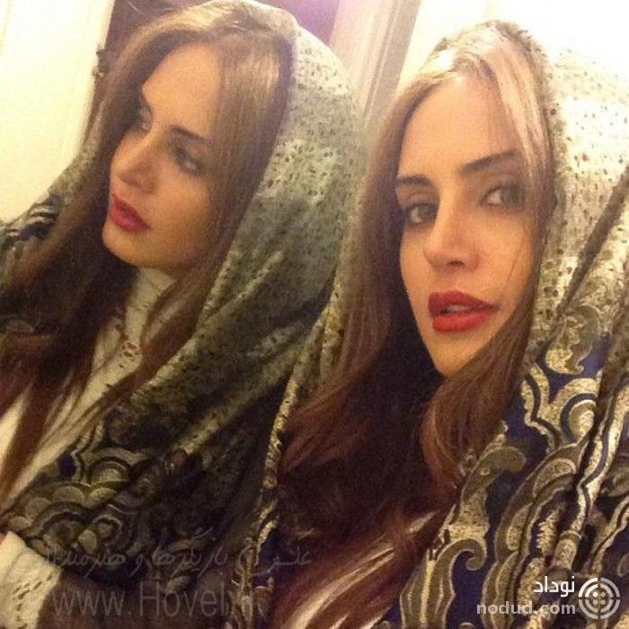 شباهت عجیب چهره الیکا خواهر الناز شاکردوست با وی + عکس