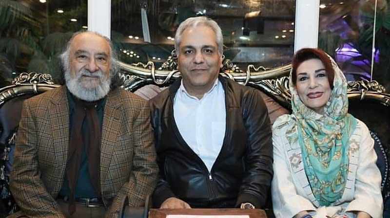 آقای بازیگر و همسرش در جشن تولد مهران مدیری + عکس
