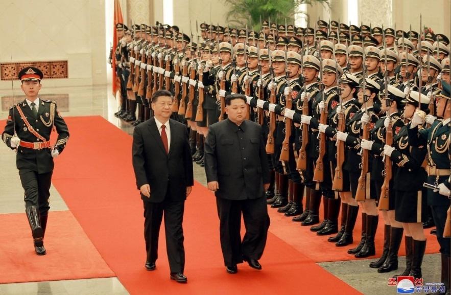 تصاویری که از سفر «اون» به چین منتشر شد
